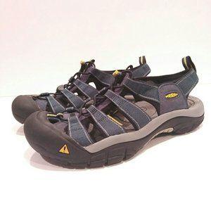 Keen 8-8.5 Mens open sandal-anatomical footbed